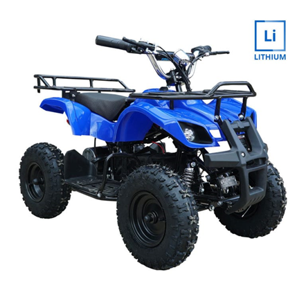 Trek Lithium 1000w Kids Quad Bike in Blue